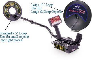 Detector de metales Sierra10
