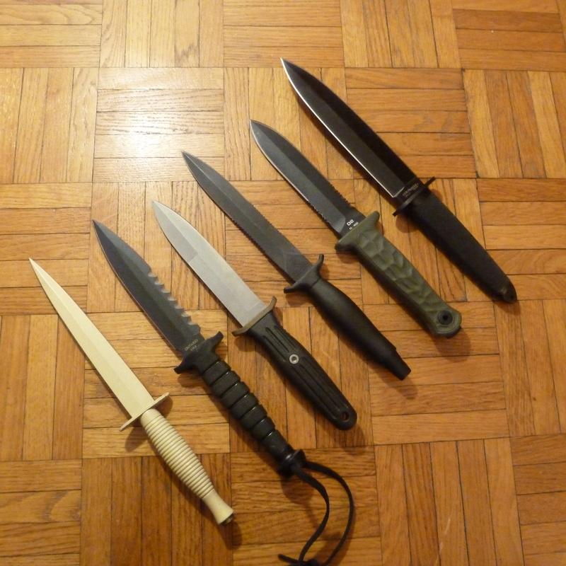 collectionneurs de couteaux modernes - LES FIXES P1040710