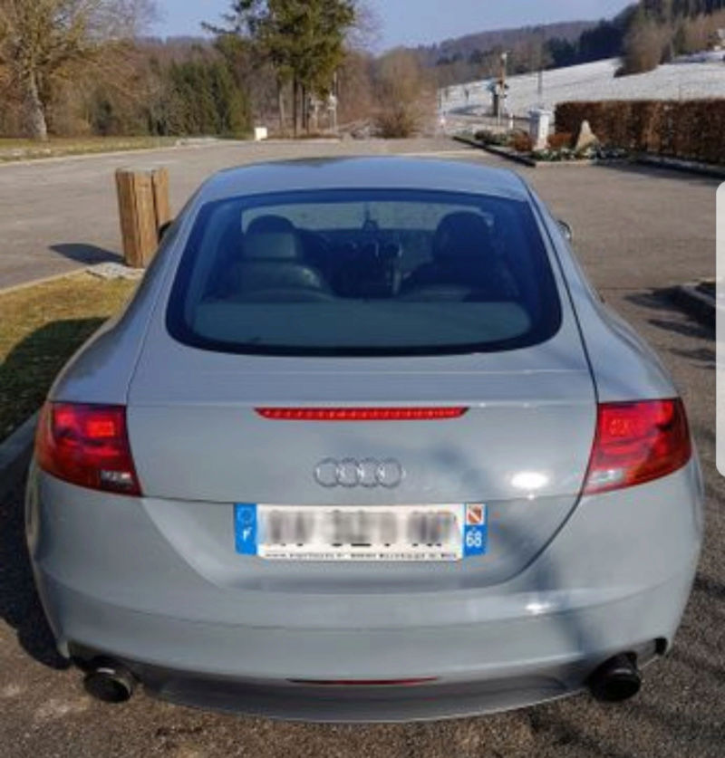 Audi tt 3.2 v6 mk2 Gris Nardo 20180312