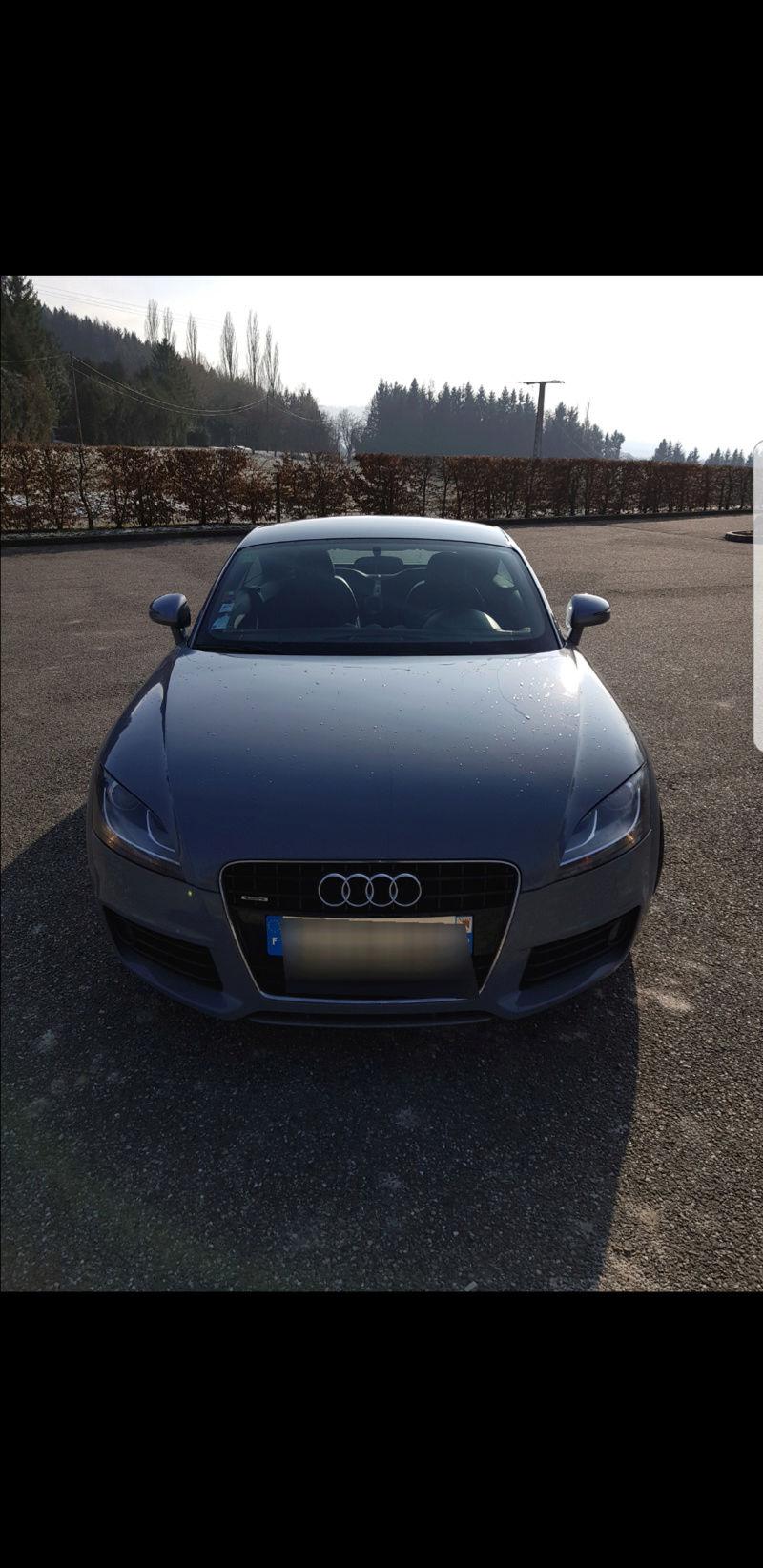 Audi tt 3.2 v6 mk2 Gris Nardo 20180313