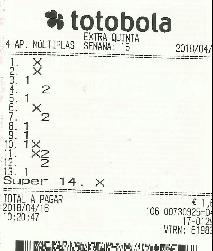 Totobola - Opiniões para o concurso 15_Extra/2018 Totob116