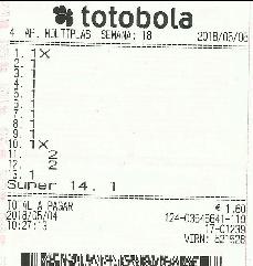 Totobola - Opiniões para o concurso 18/2018 Totob118