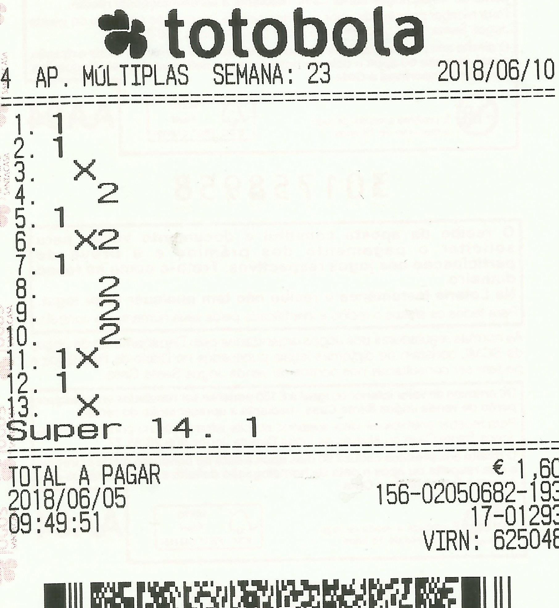 Totobola - Opiniões para o concurso 23/2018 Totob122