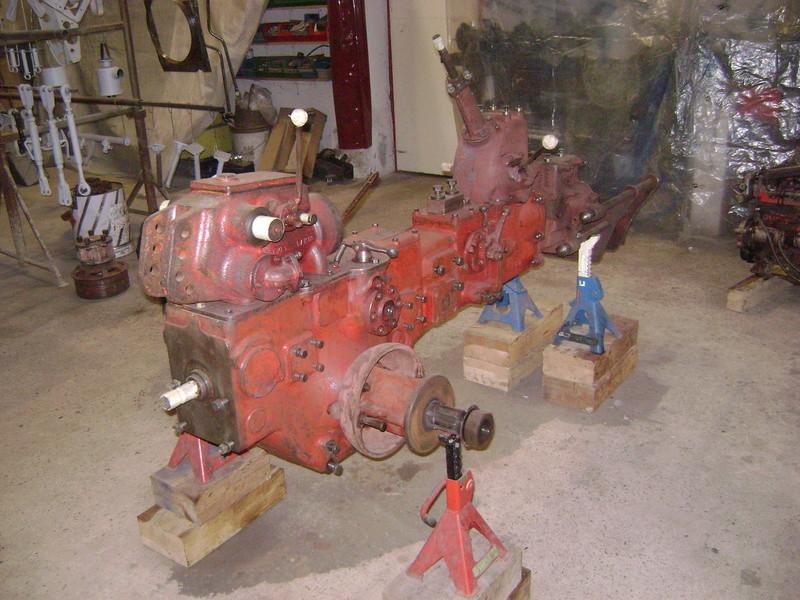 restauration - restauration d'un tracteur ENERGIC 519 B Dsc05317