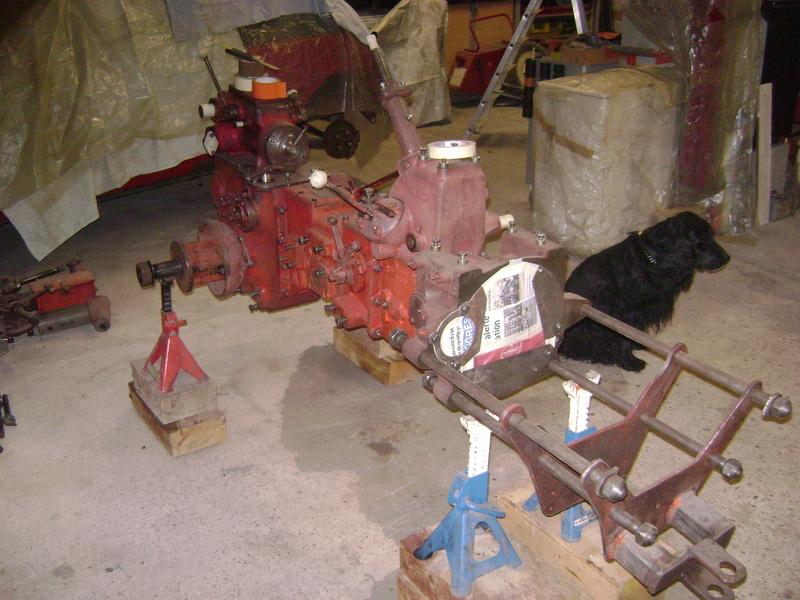 restauration - restauration d'un tracteur ENERGIC 519 B Dsc05319