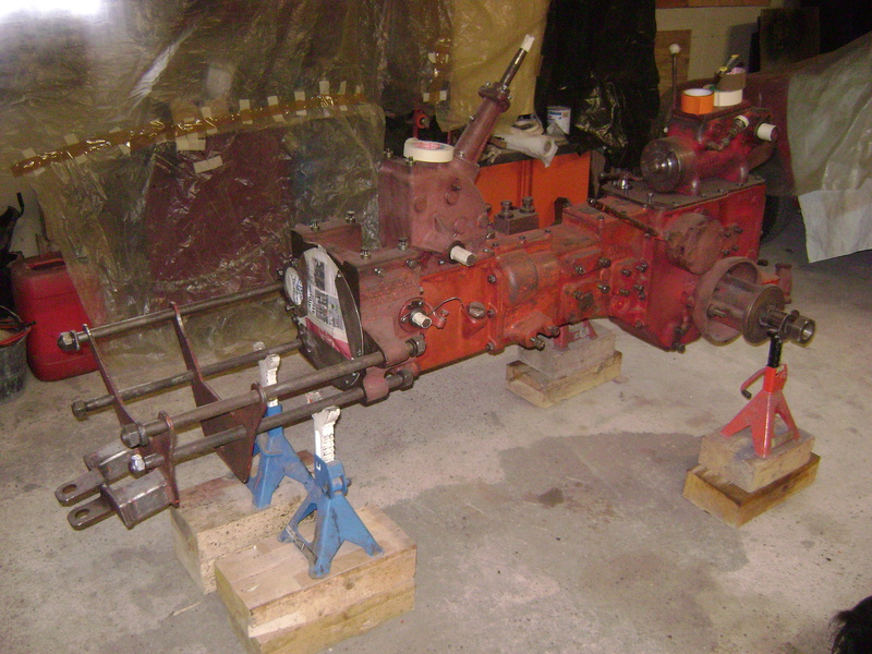 restauration - restauration d'un tracteur ENERGIC 519 B Dsc05320