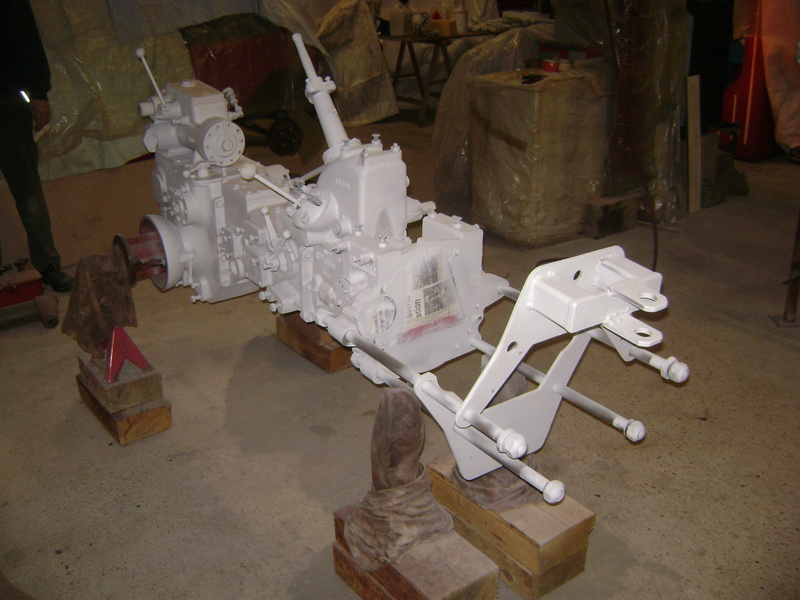 restauration - restauration d'un tracteur ENERGIC 519 B Dsc05351