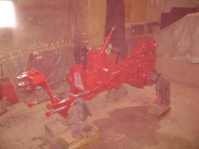 restauration - restauration d'un tracteur ENERGIC 519 B Dsc05357