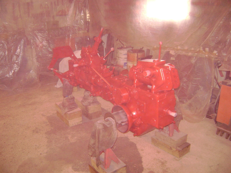 restauration - restauration d'un tracteur ENERGIC 519 B Dsc05361