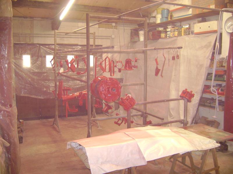 restauration - restauration d'un tracteur ENERGIC 519 B Dsc05362