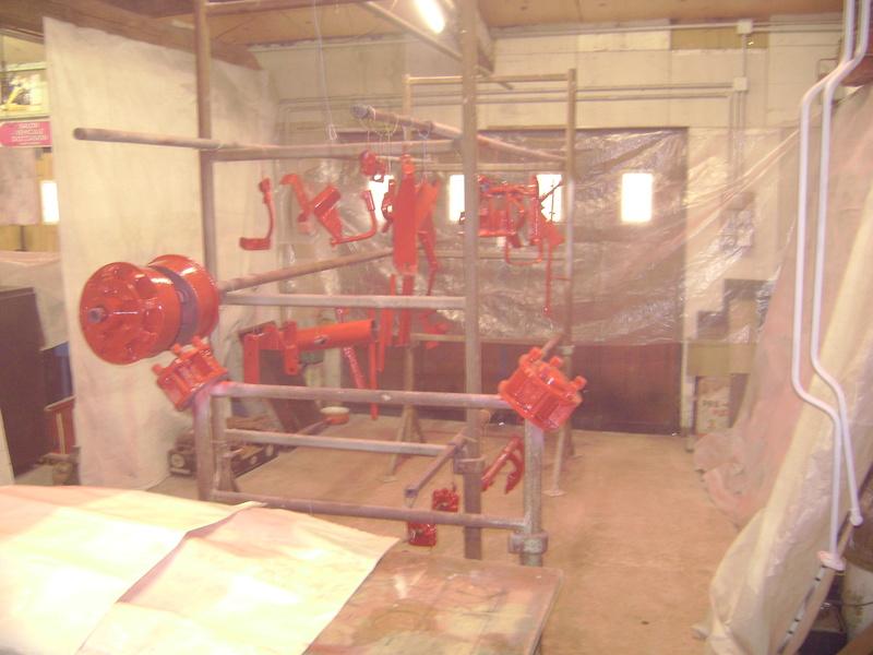 restauration - restauration d'un tracteur ENERGIC 519 B Dsc05364