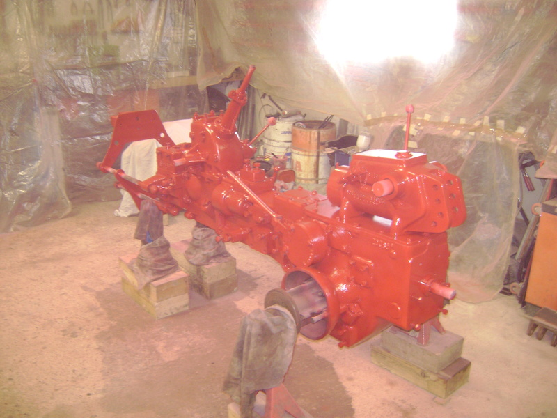 restauration - restauration d'un tracteur ENERGIC 519 B Dsc05367