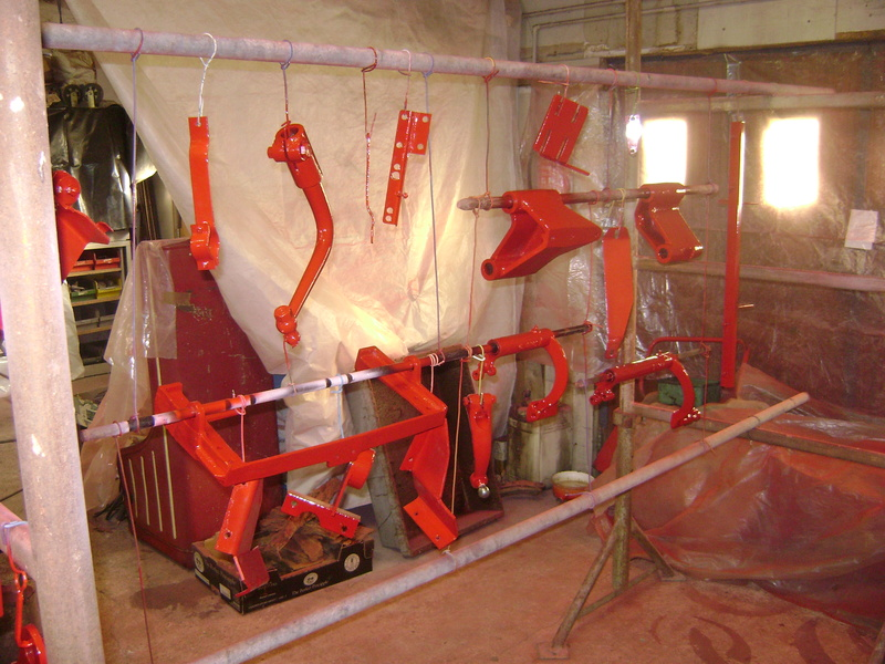 restauration - restauration d'un tracteur ENERGIC 519 B Dsc05372
