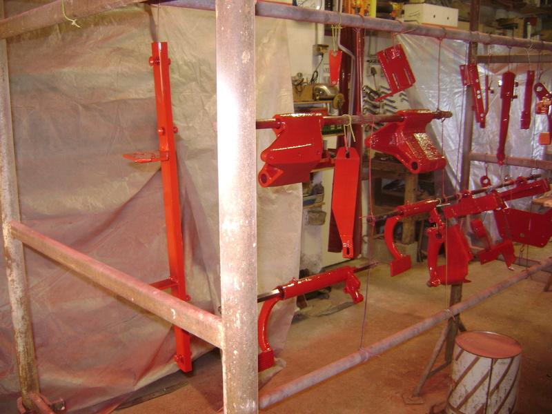 restauration - restauration d'un tracteur ENERGIC 519 B Dsc05373