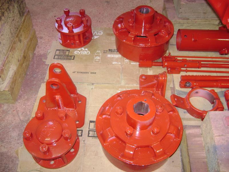 restauration - restauration d'un tracteur ENERGIC 519 B Dsc05420