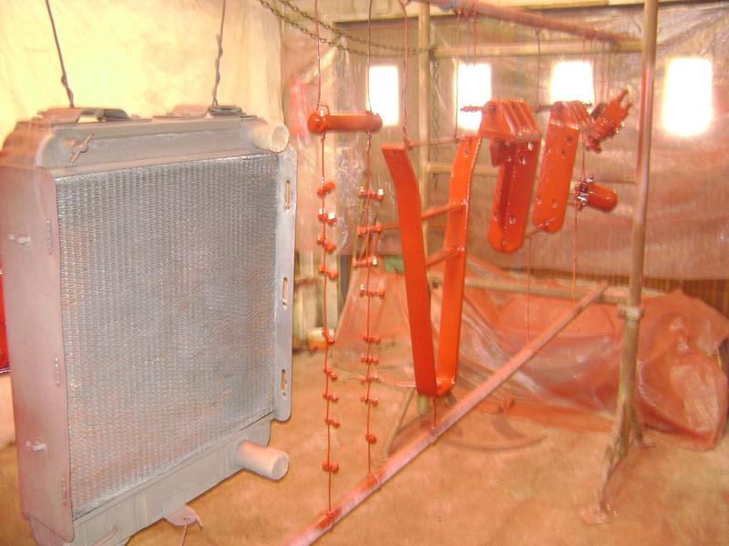 restauration - restauration d'un tracteur ENERGIC 519 B Dsc05438