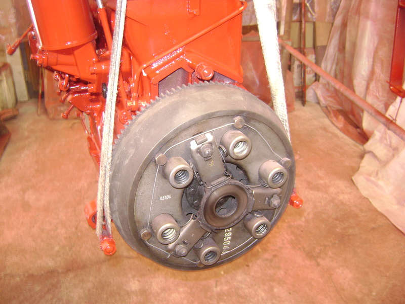 restauration - restauration d'un tracteur ENERGIC 519 B Dsc05450