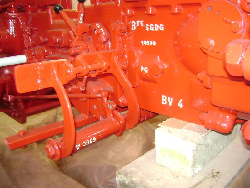 restauration - restauration d'un tracteur ENERGIC 519 B Dsc05453