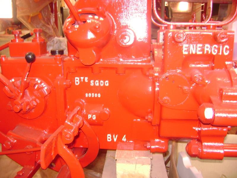 restauration - restauration d'un tracteur ENERGIC 519 B Dsc05455