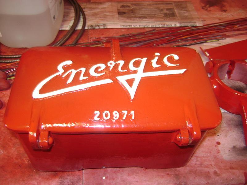 restauration - restauration d'un tracteur ENERGIC 519 B Dsc05515