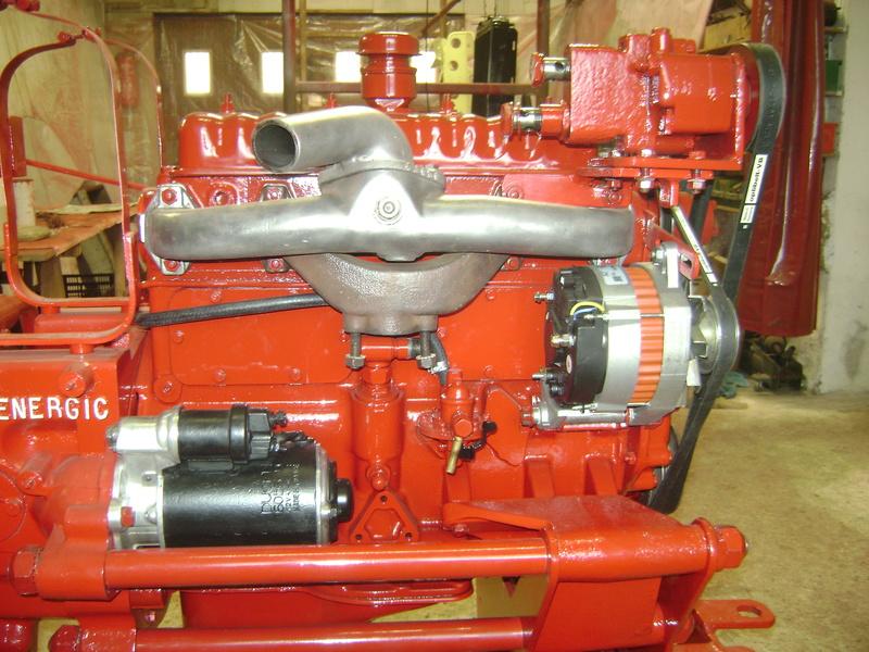 restauration - restauration d'un tracteur ENERGIC 519 B Dsc05516