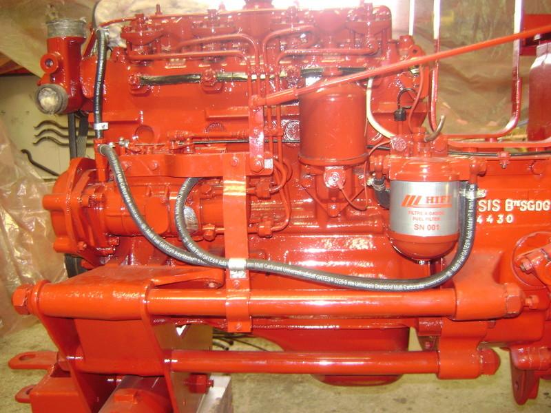 restauration - restauration d'un tracteur ENERGIC 519 B Dsc05520