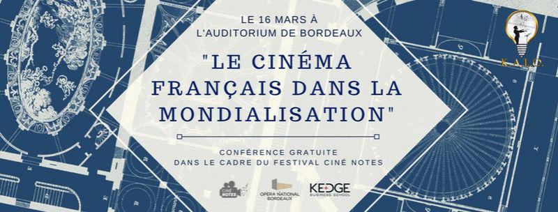"""KALO - Conférence """"Le cinéma Français dans la Mondialisation""""  28166810"""