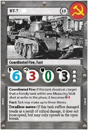 Unnoficial Tanks! BT-7 card Bt-711