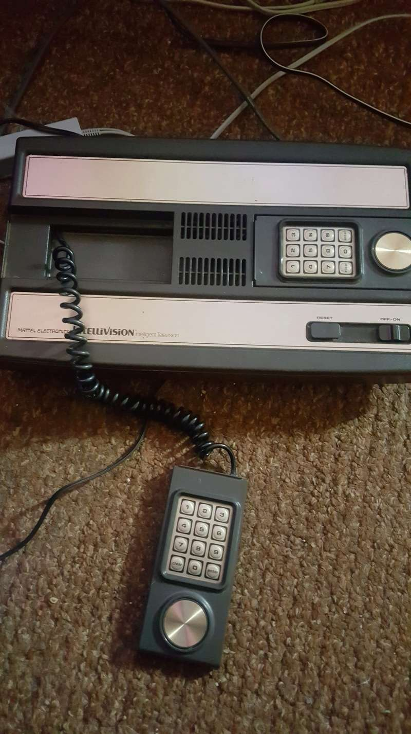 Need some help trouble shooting an intellivision 20180310