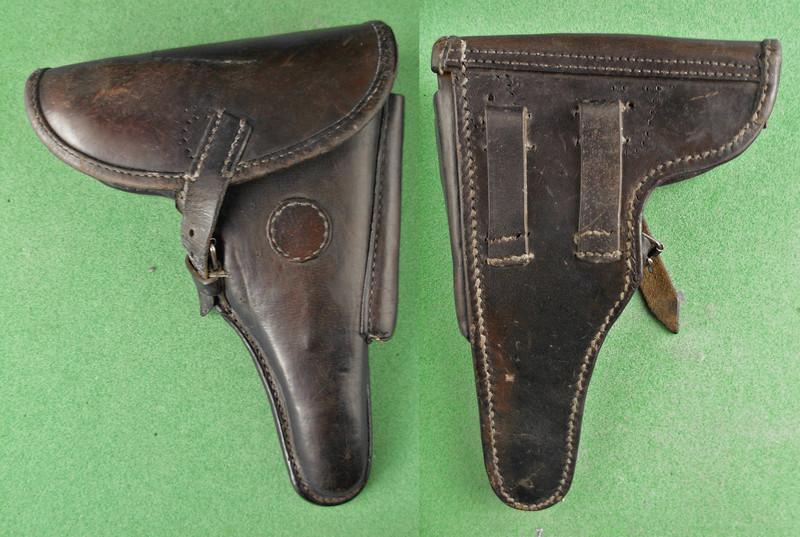 Des étuis de reconditionnement, pour P 08, 1909-1911. Etui_p11