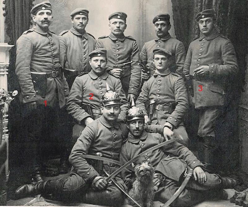Des étuis de reconditionnement, pour P 08, 1909-1911. Etuis_10