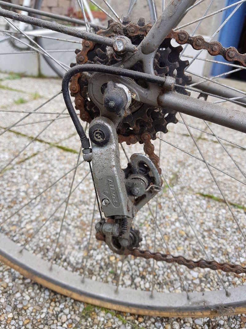 Randonneuse Chanceau (vélo paternel) 20180315