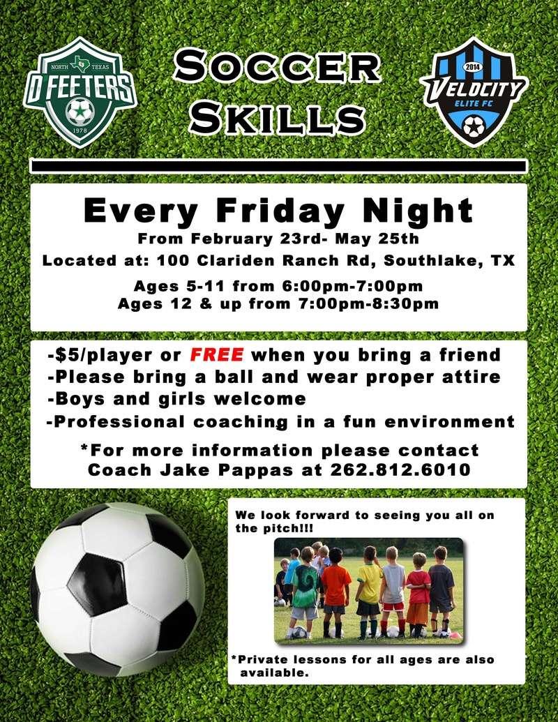 Soccer Skills in Southlake Soccer12