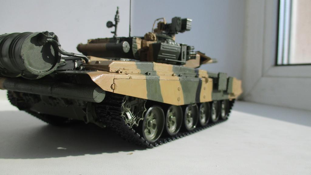 "Т-90 и БМПТ ""Рамка""(Терминатор), Звезда, 1/35 Img_1313"