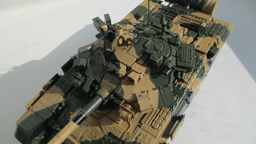 "Т-90 и БМПТ ""Рамка""(Терминатор), Звезда, 1/35 Img_1316"