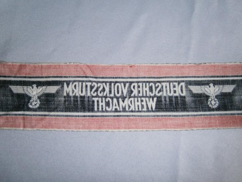Identification brassard du Volkssturm P4130411