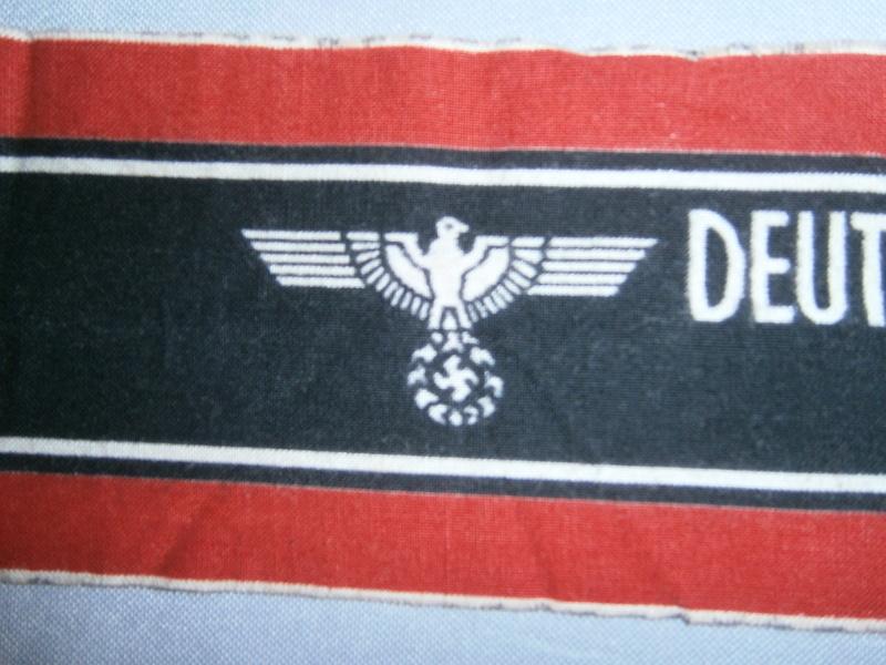 Identification brassard du Volkssturm P4130412