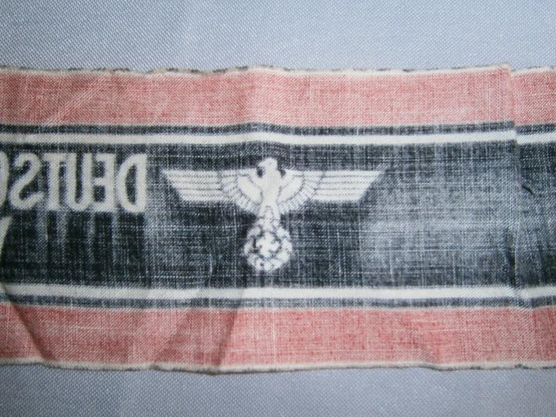 Identification brassard du Volkssturm P4130413