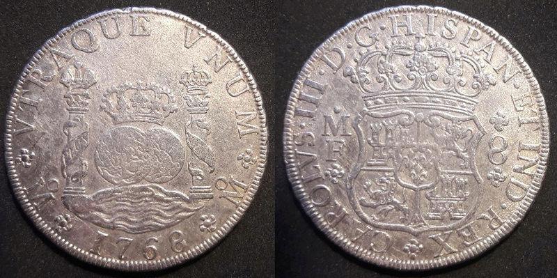 Columnarios de Carlos III - auténtico vs falso Carlos10