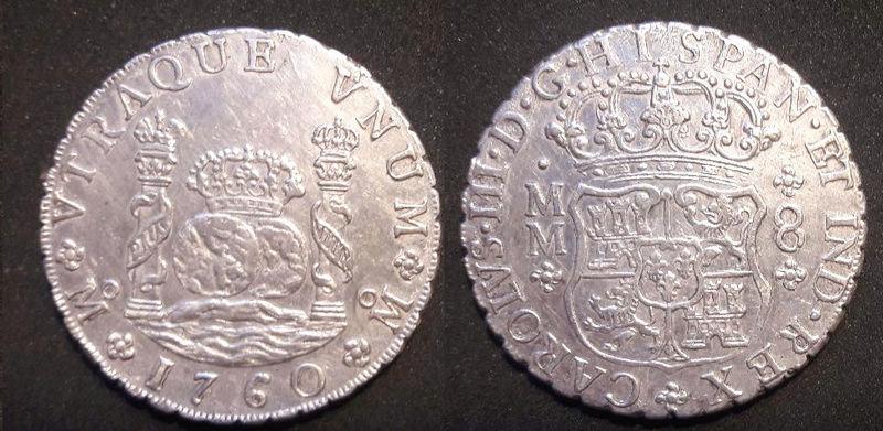 Columnarios de Carlos III - auténtico vs falso Carlos11