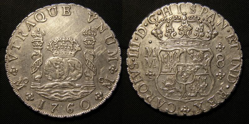 Columnarios de Carlos III - auténtico vs falso Carlos14