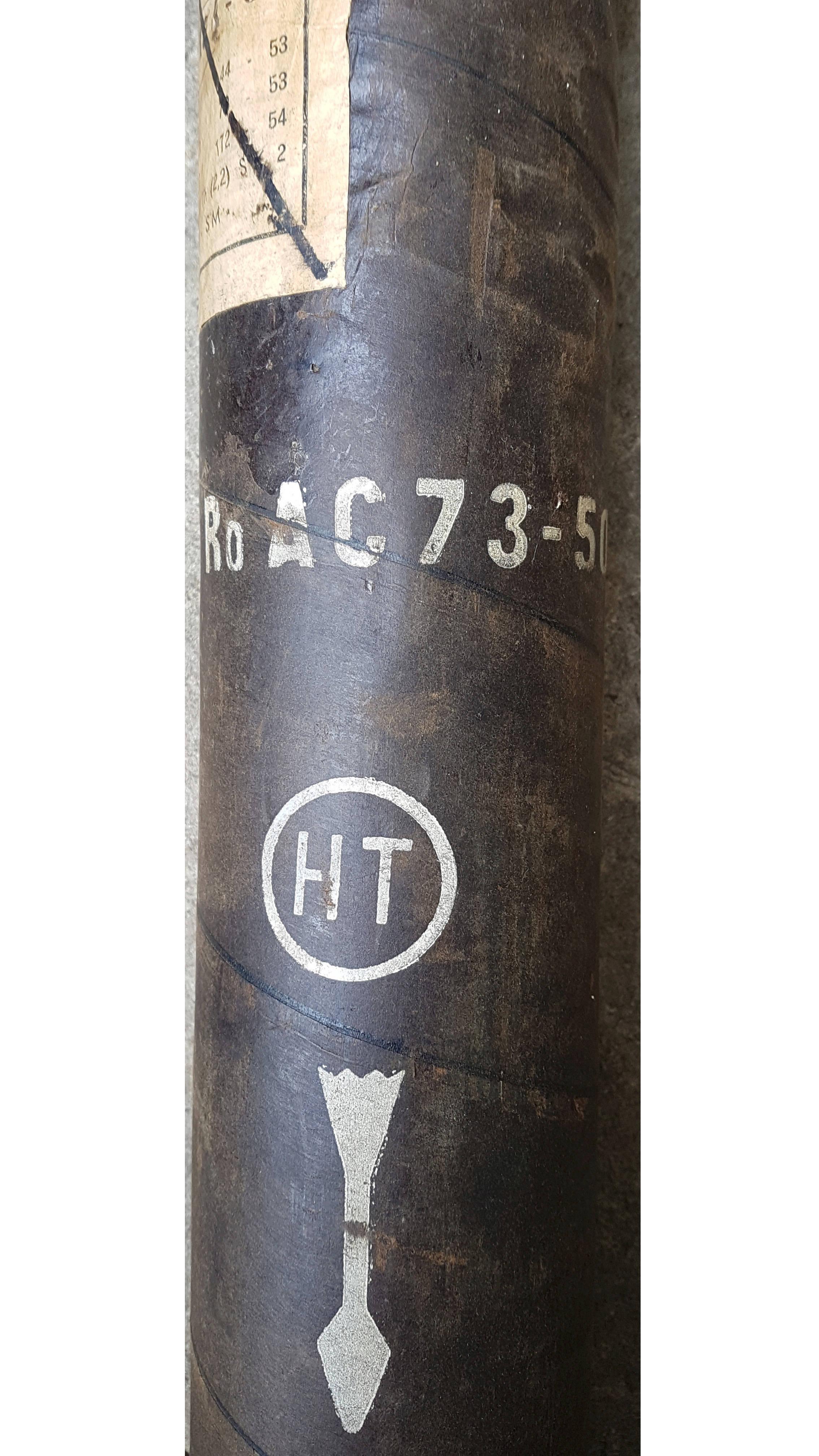 Étuis de roquettes (vides) à estimer 20180631