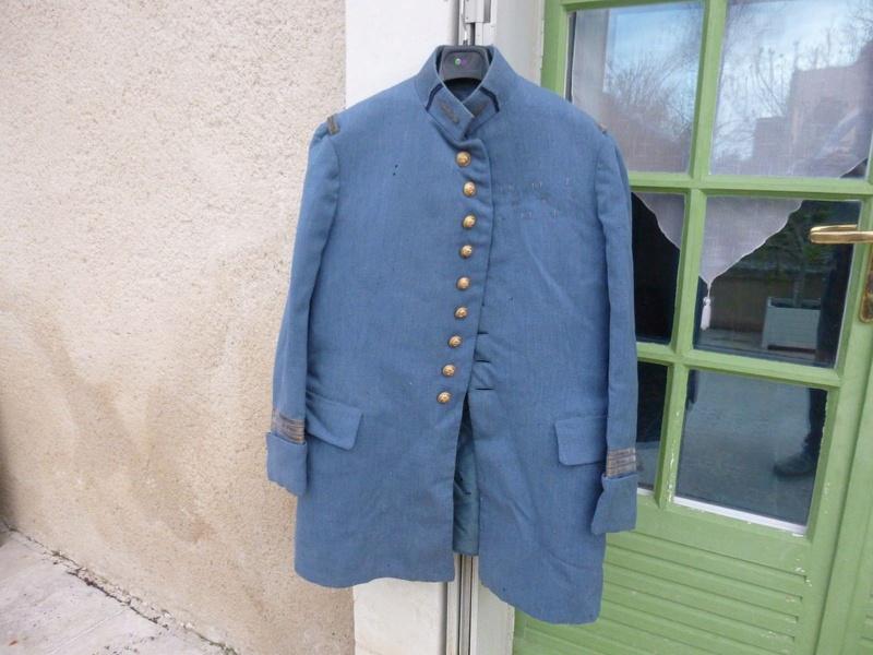 Avis, authentification et estimation :  Veste officier bleu horizon Lo10