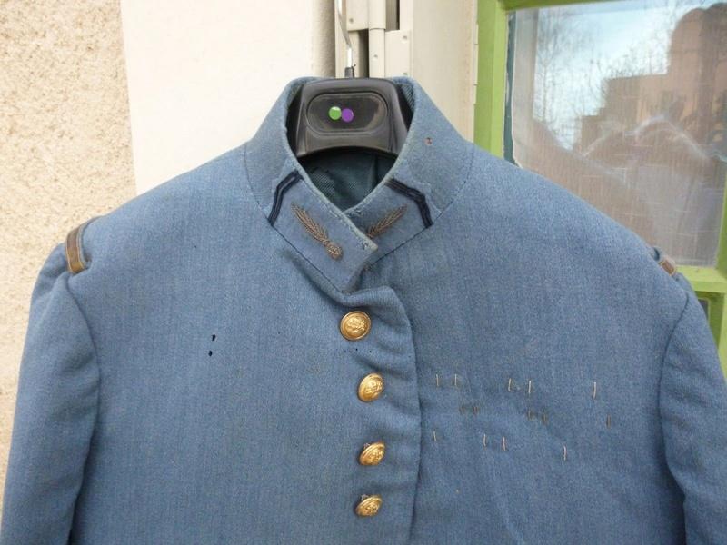 Avis, authentification et estimation :  Veste officier bleu horizon Mo10