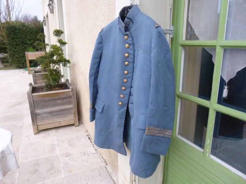 Avis, authentification et estimation :  Veste officier bleu horizon Ne10