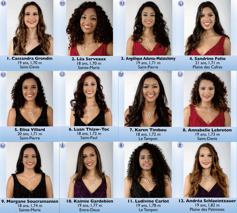 Élection : Miss Réunion 2018 Candid13
