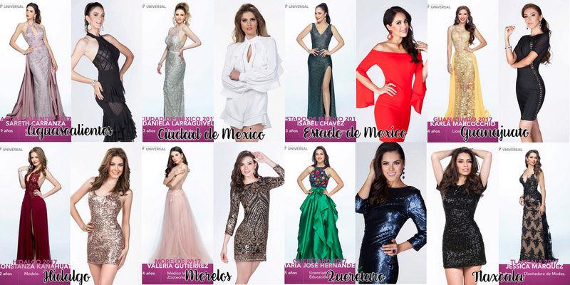 ღ  Mexicana Universal Mexico 2018  ღ  Sud-mm10