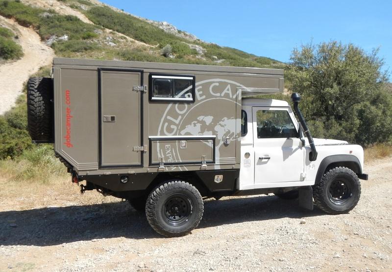 [vendu] Land rover defender 110 300 tdi avec cellule Globe Camper a vendre Cellul11