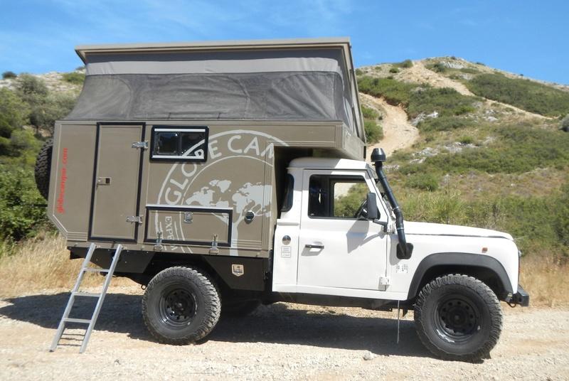 [vendu] Land rover defender 110 300 tdi avec cellule Globe Camper a vendre Globe_11