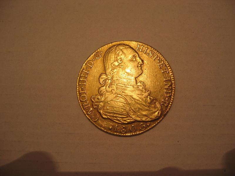 8 escudos 1806. Carlos IV. Nuevo Reino JJ. Ayuda valoración 102_0210